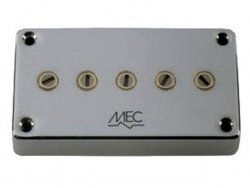Aktywny przetwornik MEC M 60214 Star Bass 5 strun, neck, chrom