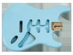 Korpus do gitary VPARTS ST-1G (SBL)