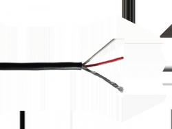 2-żyłowy ekranowany kabel HOSCO CBL-2CW