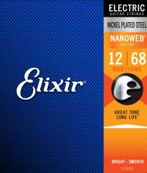 Struny ELIXIR NanoWeb (12-68) Baritone