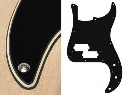 Pickguard BOSTON P.Bass, 3 warstwowy (BC)