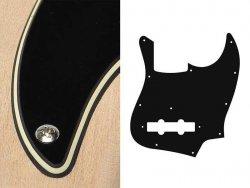 Pickguard BOSTON 62 J.Bass 3 warstwowy (BC)