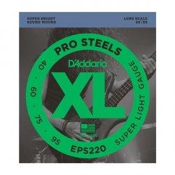 Struny D'ADDARIO ProSteels EPS220 (40-95)