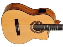 Gitara elektro-klasyczna EVER PLAY Taiki Zebra CE