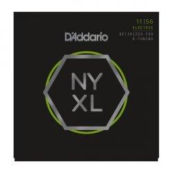 Struny D'ADDARIO NYXL Nickel Wound (11-56)
