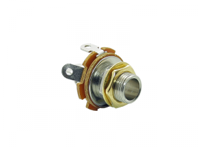 Gniazdo jack mono 6,3mm VPARTS EJ-10 (GD)