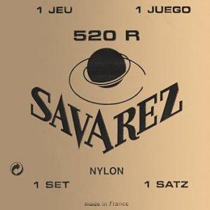 Struny do klasyka SAVAREZ Nylon 520 R