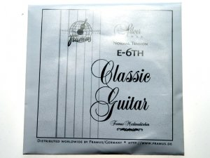 Struna do gitary klasycznej FRAMUS E6 High