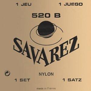 Struny do klasyka SAVAREZ Nylon 520 B