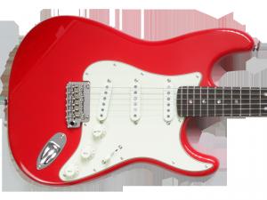 Gitara TRIBUTE Starlight Deluxe SSS (FRD)