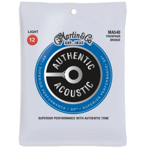 Struny do akustyka MARTIN Authentic MA540 (12-54)