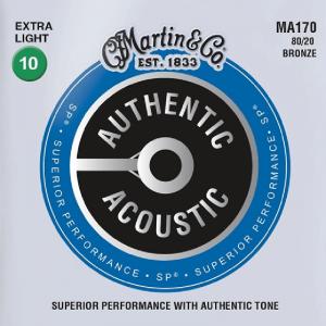 Struny do akustyka MARTIN Authentic MA170 (10-47)