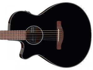 Gitara elektro-akustyczna IBANEZ AEG50L-BKH