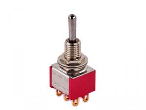 Przełącznik DPDT on-on-on mini MEC 80006 (CR)