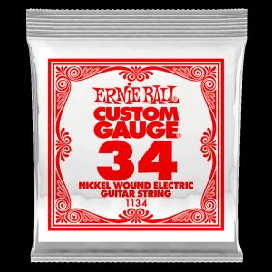 Pojedyncza struna ERNIE BALL Nickel Slinky 034w