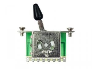 Przełącznik ślizgowy 5-pozycyjny ALPHA 5 (BK)