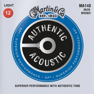 Struny do akustyka MARTIN Authentic MA140 (12-54)