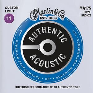 Struny do akustyka MARTIN Authentic MA175 (11-52)