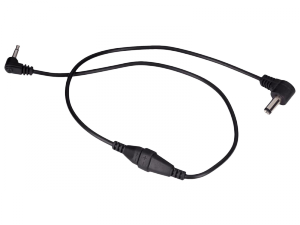 ROCKGEAR kabel DC/miniJack odwr. polar. (50cm)