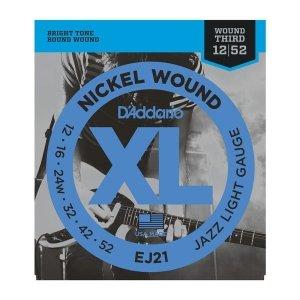 Struny D'ADDARIO XL Nickel Wound EJ21 (12-52)
