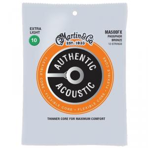 Struny do akustyka MARTIN Auth. MA500FX (10-54)