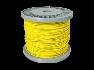 Woskowany kabel vintage VPARTS VCW-102 (YE)