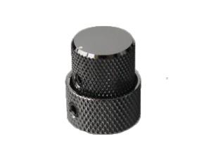 Gałka metalowa podwójna GOTOH VK15T/18T (CK)
