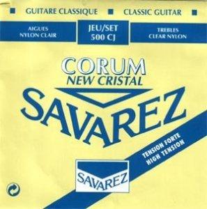 Struny do klasyka SAVAREZ Corrum i Alliance 500 CJ