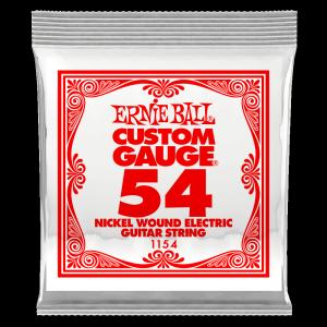 Pojedyncza struna ERNIE BALL Nickel Slinky 054w