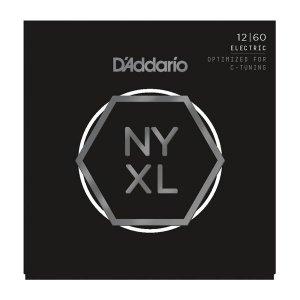 Struny D'ADDARIO NYXL Nickel Wound (12-60)