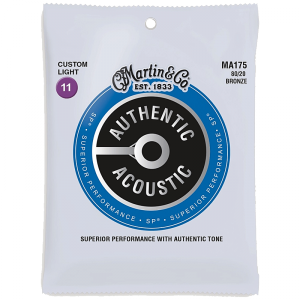 Struny do akustyka MARTIN Authentic MA175 (11-52)