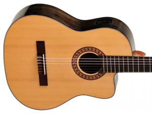 Gitara elektro-klasyczna EVER PLAY Taiki Walnut CE