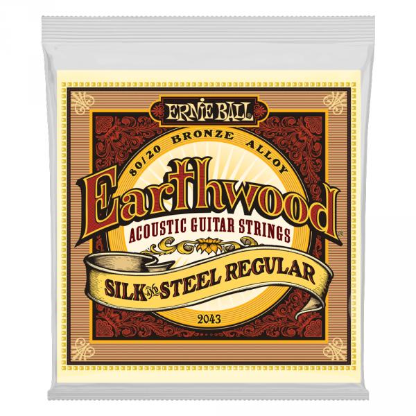 Struny ERNIE BALL 2043 Silk & Steel (13-56)