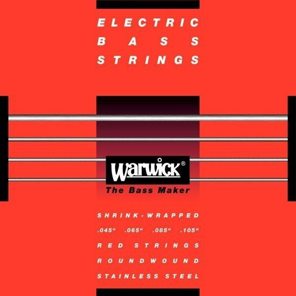 Struny WARWICK 42210 (40-100) Stainless Steel