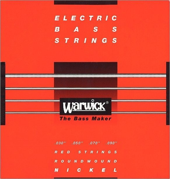 Struny do basu WARWICK Nickel Plated (30-90)