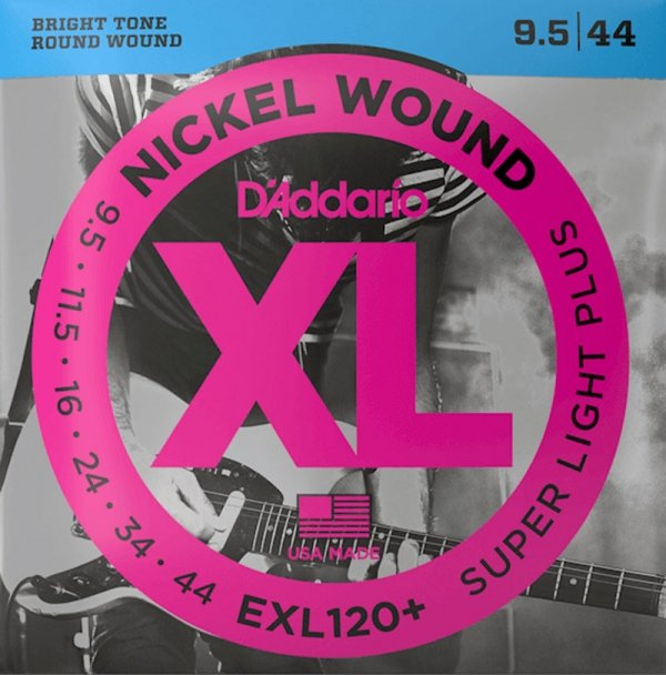 Struny D'ADDARIO XL Nickel Wound EXL120+ (09,5-44)