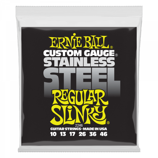 Struny ERNIE BALL 2246 Stainless Steel (10-46)