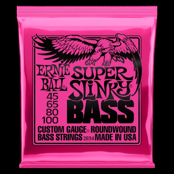 Struny ERNIE BALL 2834 Bass Slinky (45-100)
