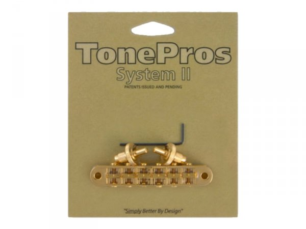 Mostek tune-o-matic TONEPROS T3BP 4,2mm (GD)