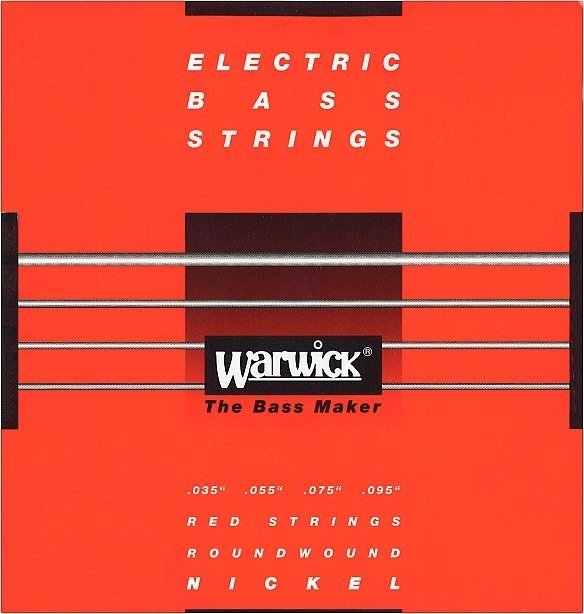 Struny WARWICK 46230 (35-95) Nickel Plated Steel