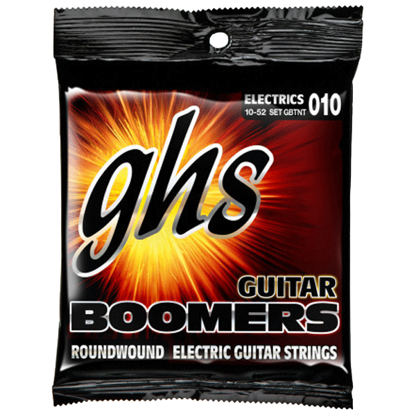 Struny GHS Boomers Roundwound (10-52) Thin/Thick