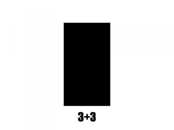 Klucze blokowane GROVER Mini Roto 406 (GD, 3+3)