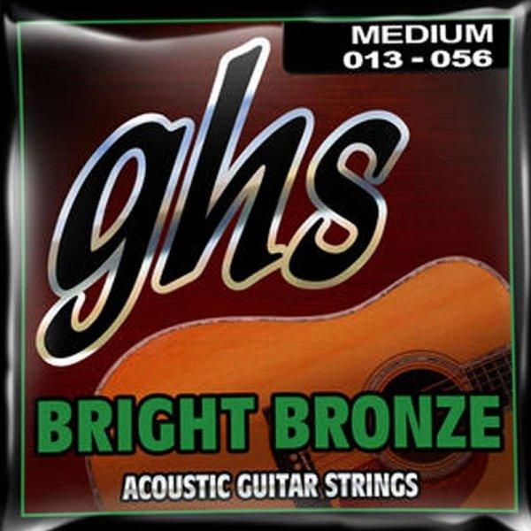 Struny GHS Bright Bronze 80/20 Medium (13-56)