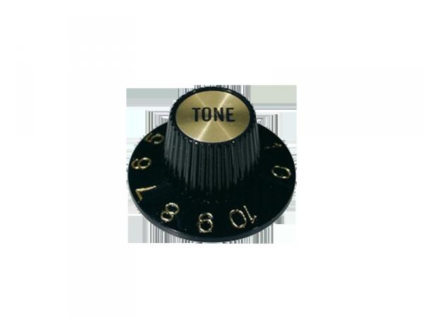 Gałka wciskana, calowa typu Hat (GD, tone)