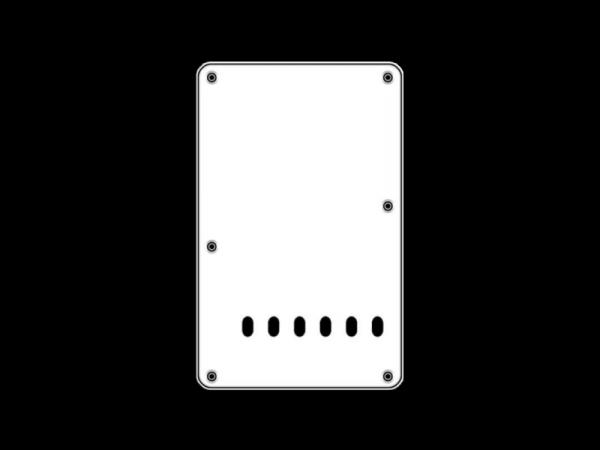 Maskownica tylna BOSTON BP-313 (WH)