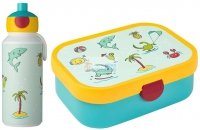 Zestaw bento lunchbox bidon 400ml Doddle Dino Mepal