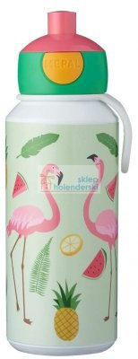 Bidon 400ml Flamingi Tropical Mepal