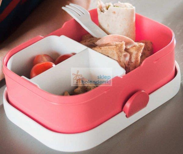Lunchbox z wkładem i widelczykiem zielona śniadaniówka bentobox Green Rosti Mepal Campus 3.0, sklepholenderski.pl zdj.7