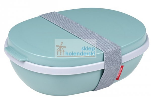 Lunchbox Ellipse Duo Nordic Green zielony Rosti Mepal sklepholenderski.pl zdj.1