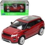 Welly Samochód Land Rover Evoque, czerwony